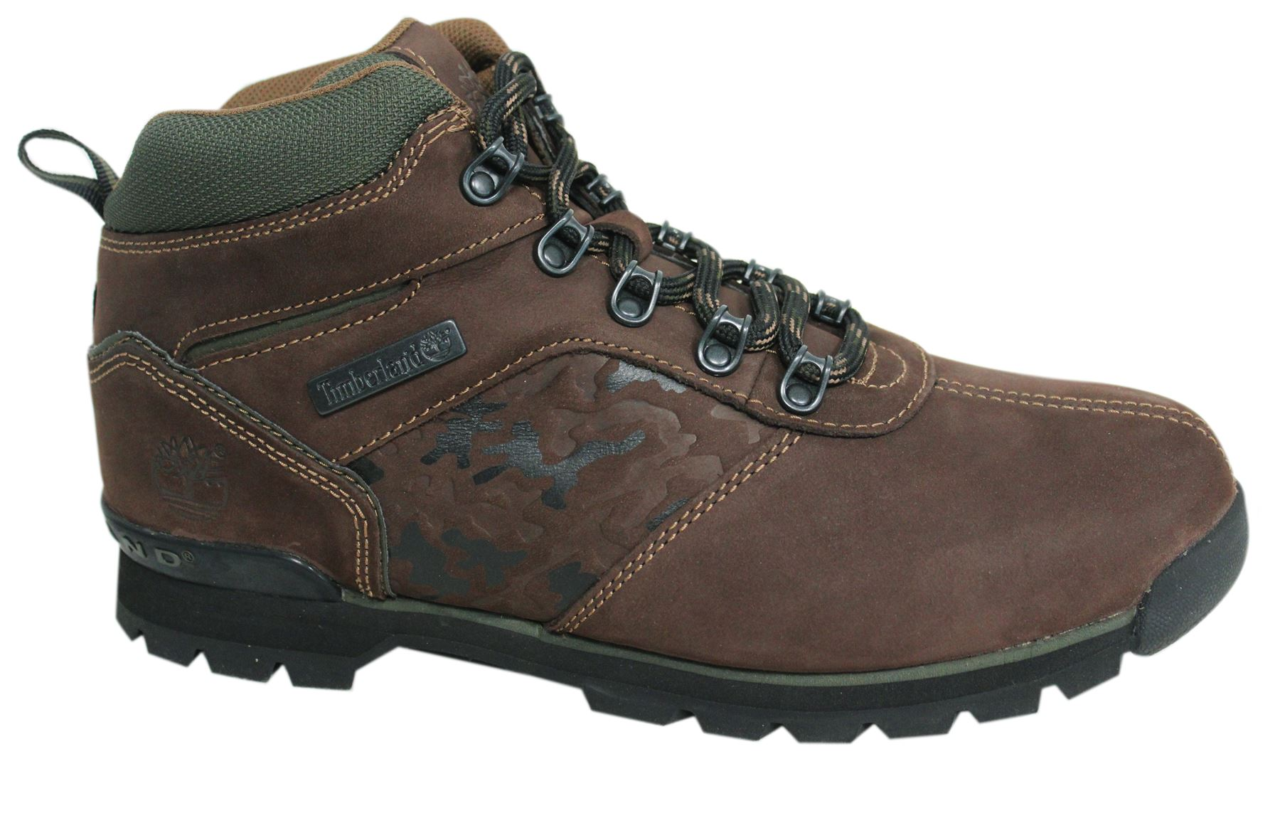 8a4f8108d408 Timberland Splitrock 2 Hiker Mens Lace Up Brown Hiking Boots Leather A15UG  T3