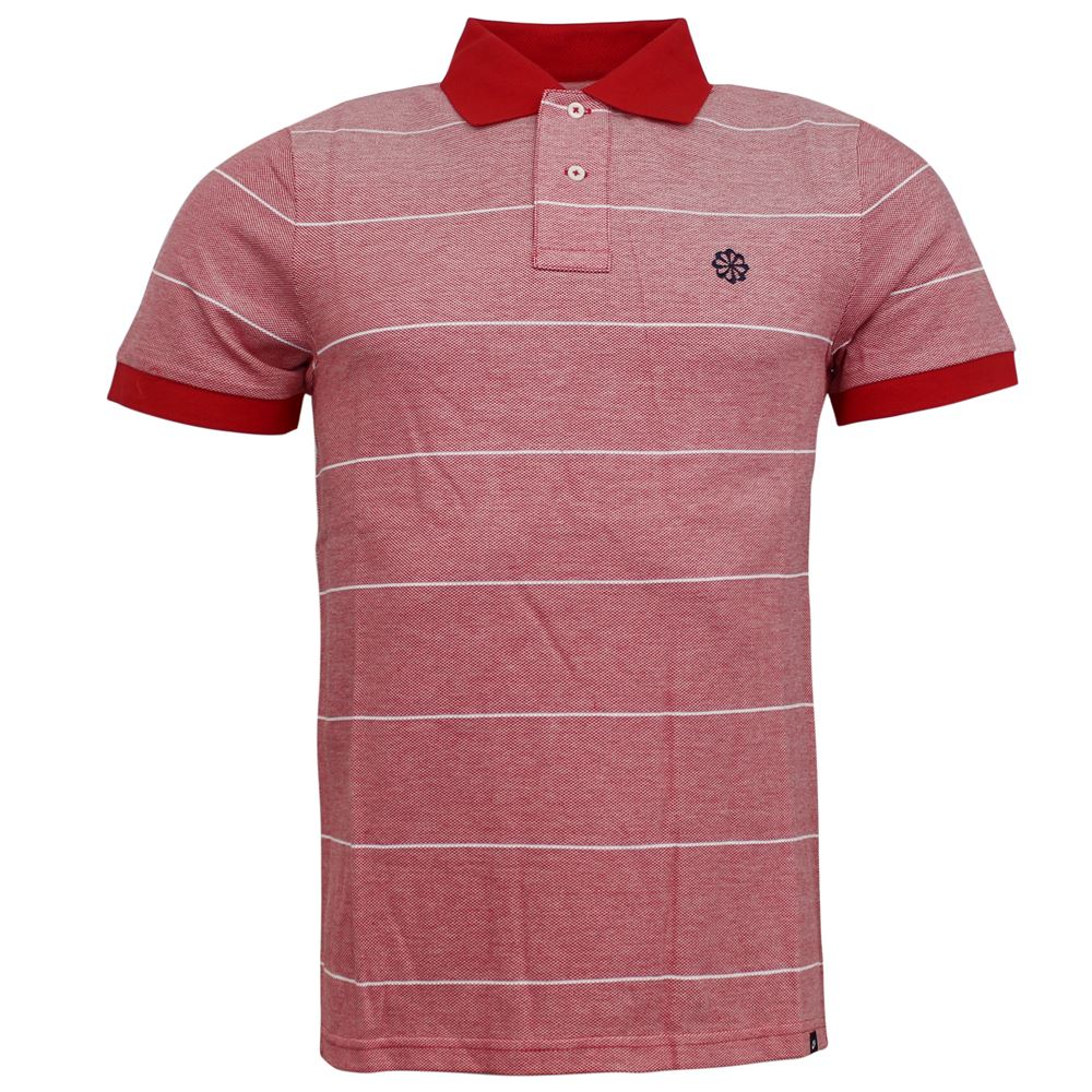 Nike Sportswear 2 Button Up Red Collared Mens Training Polo Shirt 383133  611 M1 9e033f07edcaf
