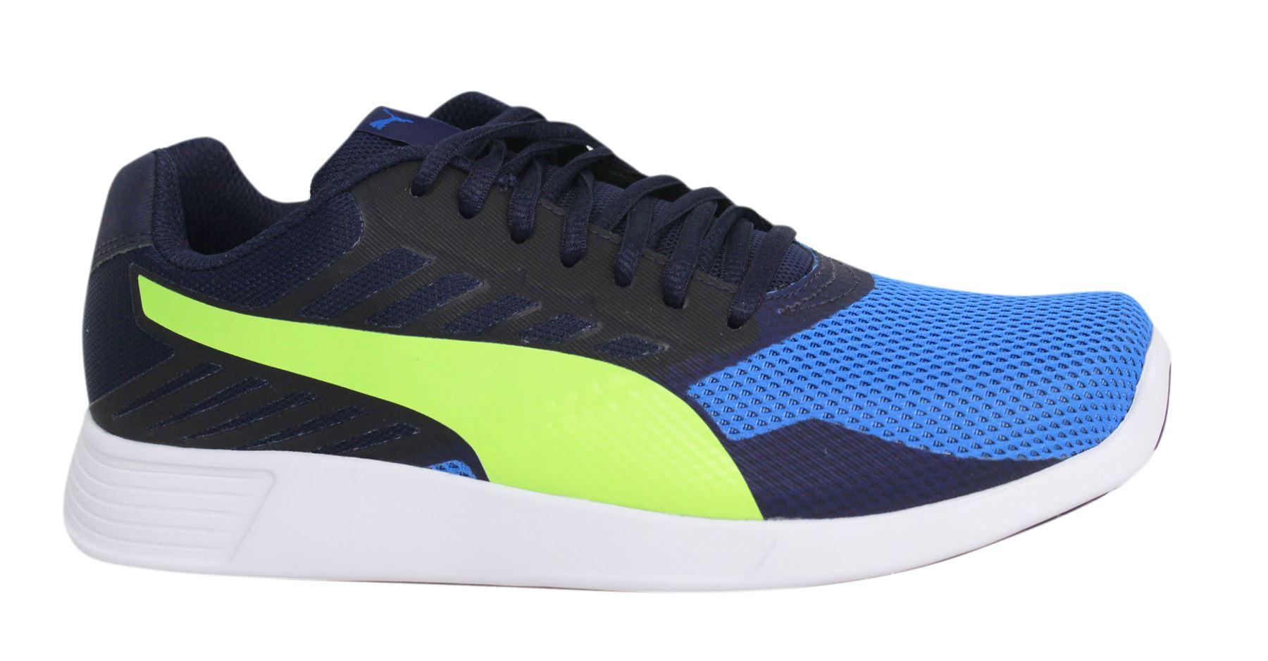 Puma ST Lacci Blu Pro Giallo Tessile Sneaker Uomo 361959 04 P2