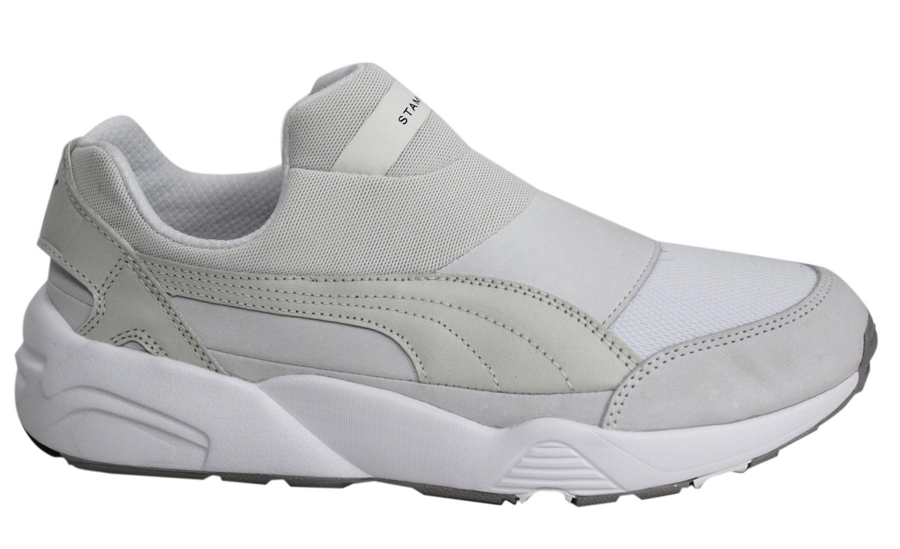 Detalles acerca de Puma Trinomic Calcetín Stampd casi como nuevo x para hombre Off White Zapatillas resbalón en el zapato 361429 03 D9 mostrar título