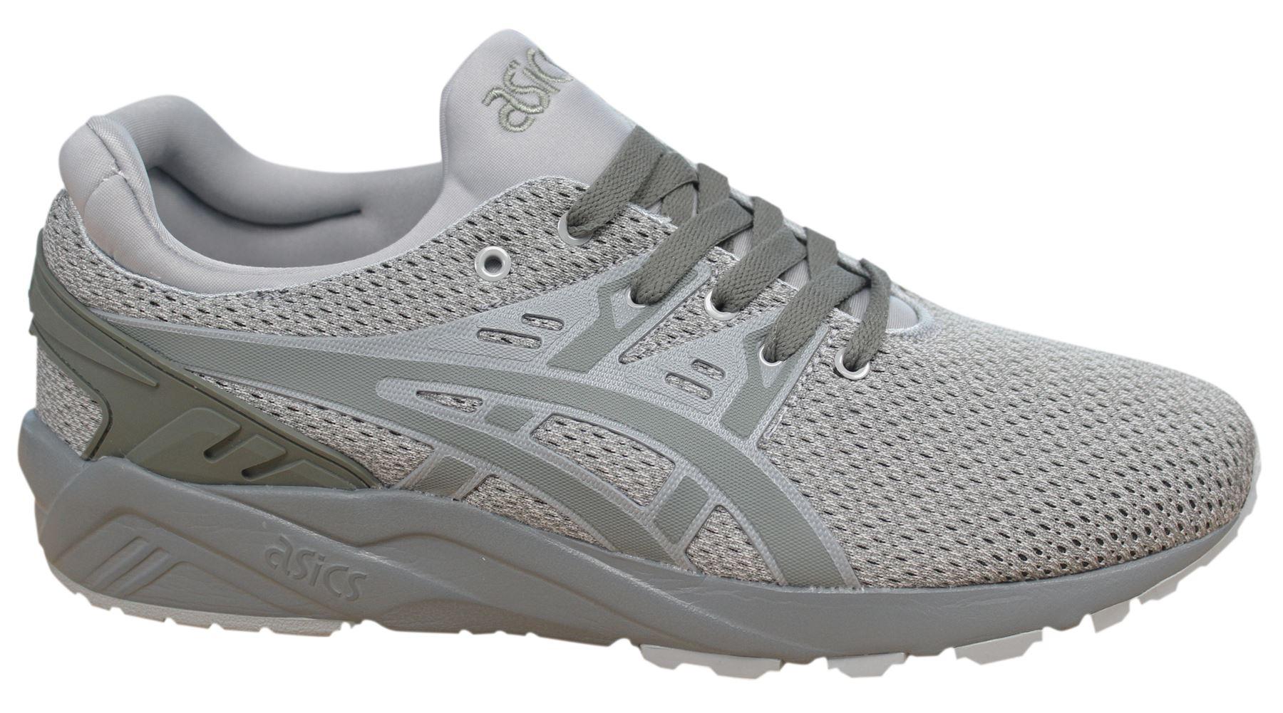 ASICS Gel Kayano EVO Lacci Grigio Sneaker Uomo Sintetico H742N 8181 M16