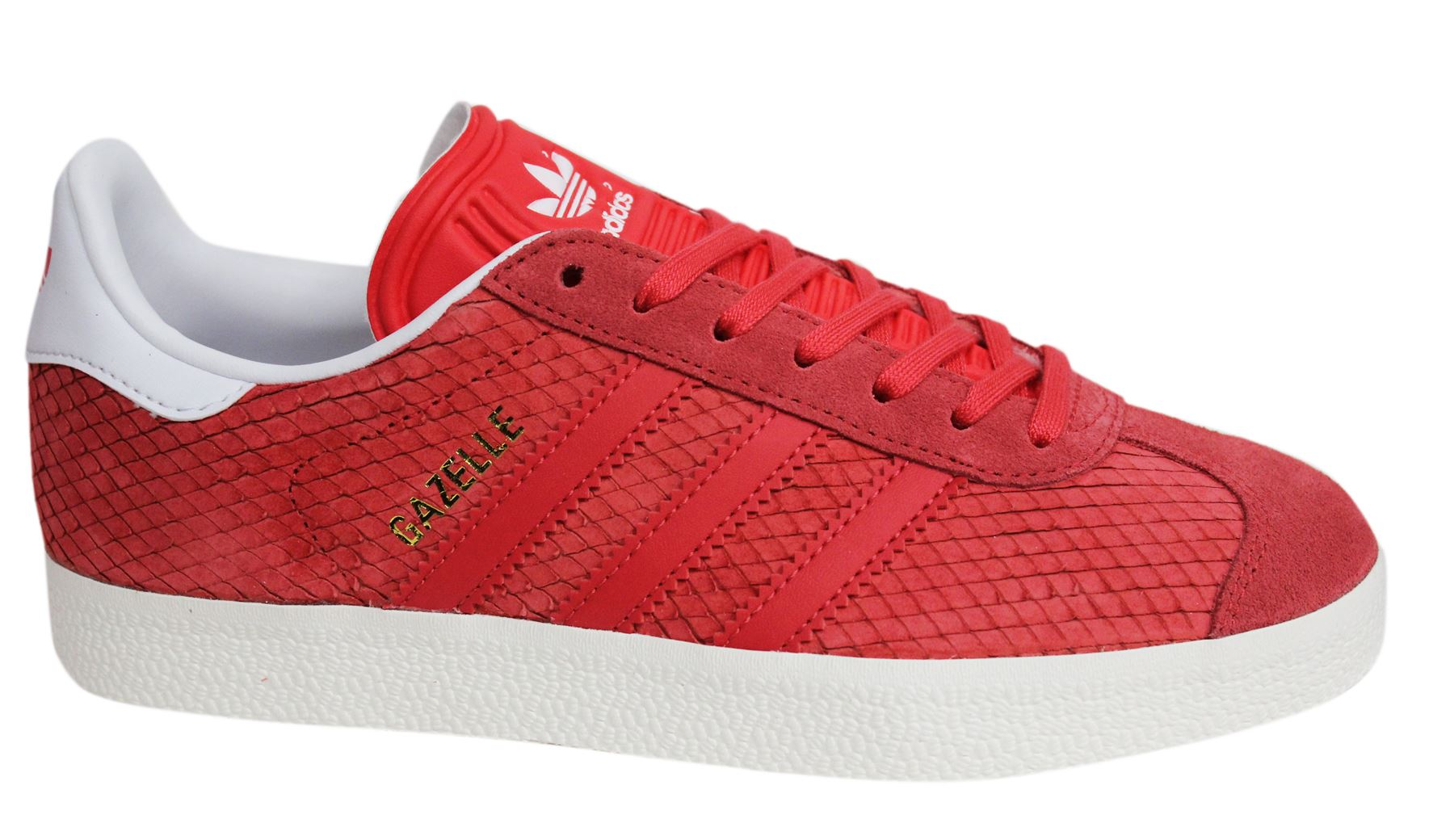 Adidas Originals Gazelle Lace Up Pink Damenschuhe Leder Damenschuhe Pink Trainers BB5174 44655d