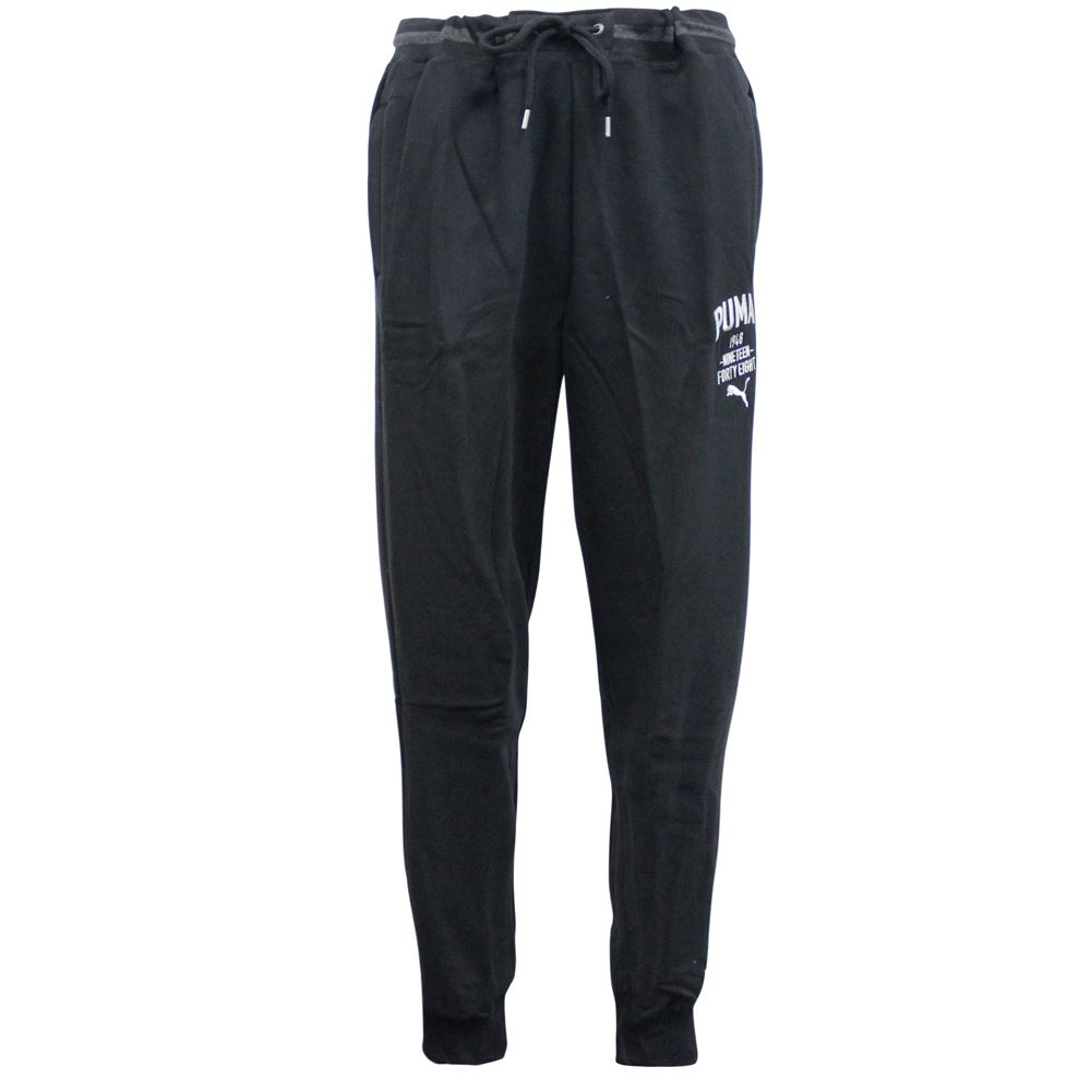 Details about Puma Style Athletic Black Mens Regular Fit Sweat Pants 834130  01 M8 1b50d817c65bc