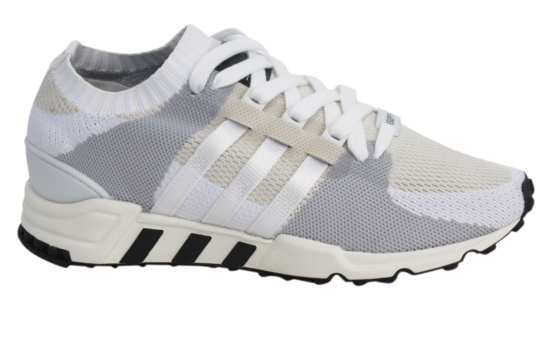 best loved 505b8 34afc Details about Adidas Eqt Support RF PK Lace Up White Silver Mens Textile  Trainers BA7507 D49