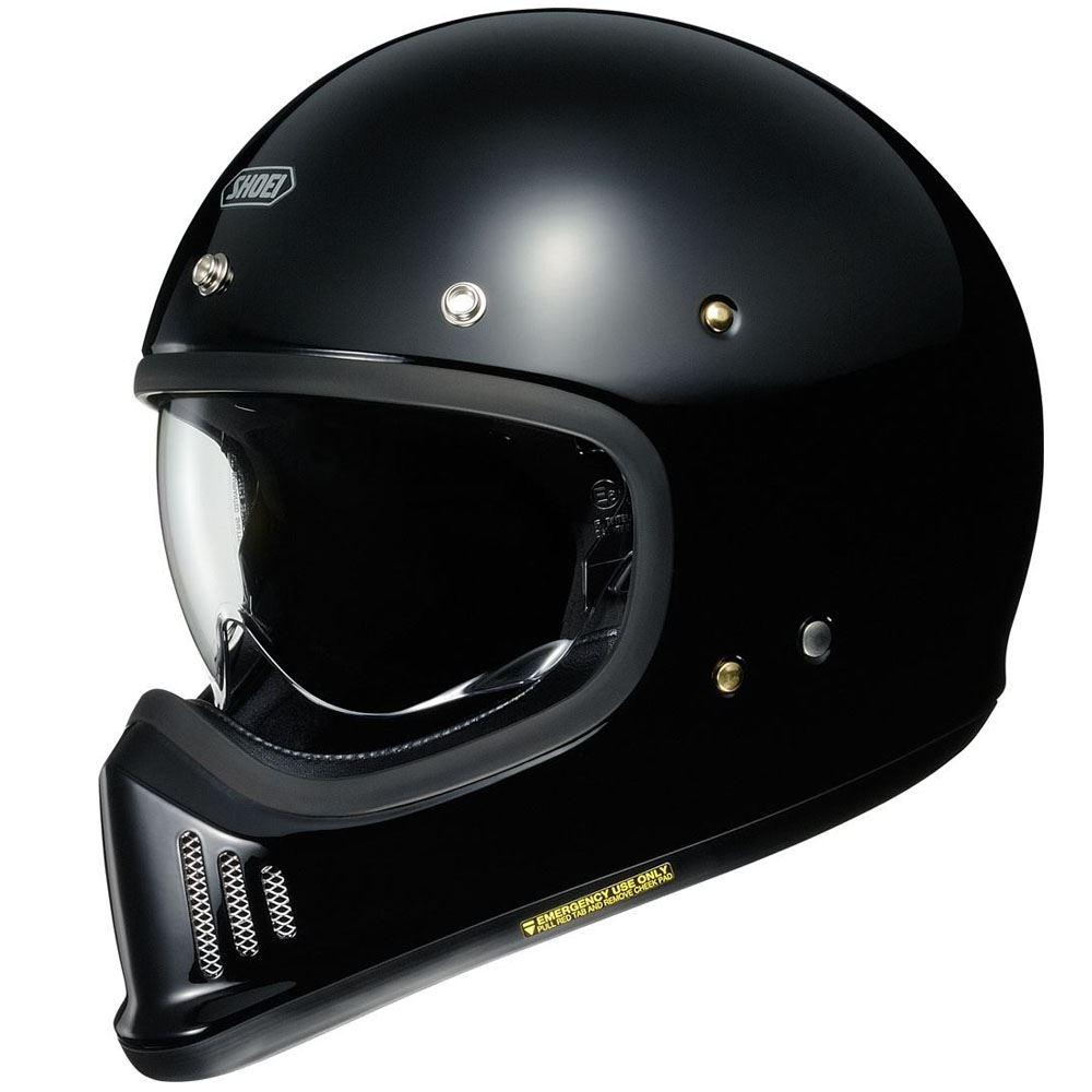 657fc4f9 Shoei Ex-Zero Gloss Black Full Face Motorcycle Helmet | eBay