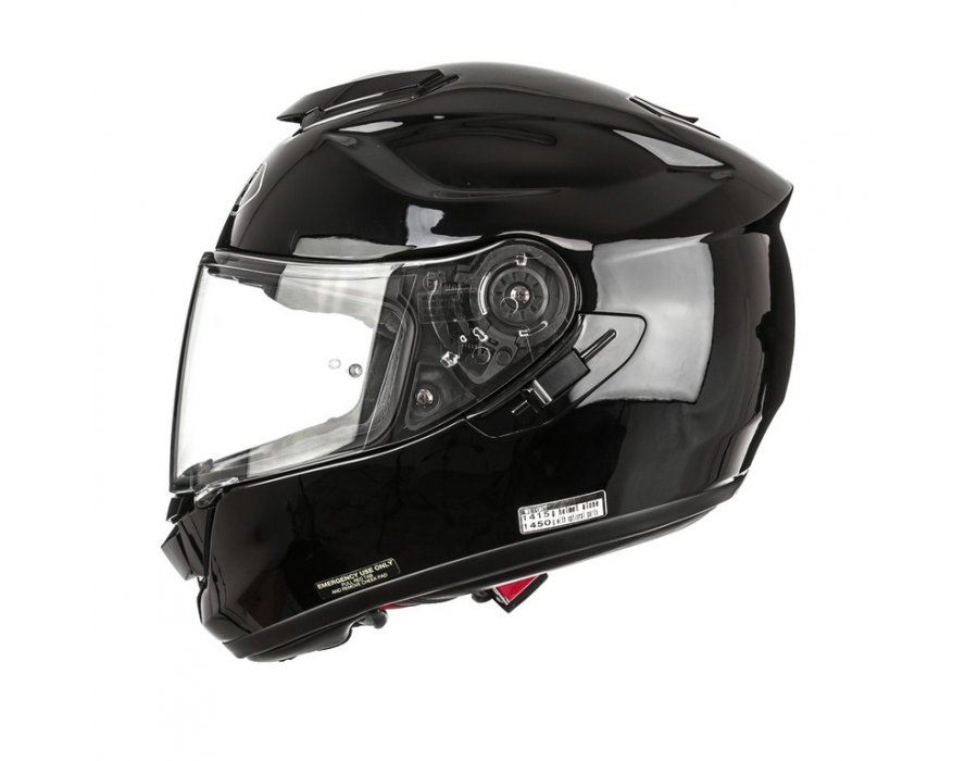 Shoei Gt Air Brilliant Noir Integral Moto Casque Ebay