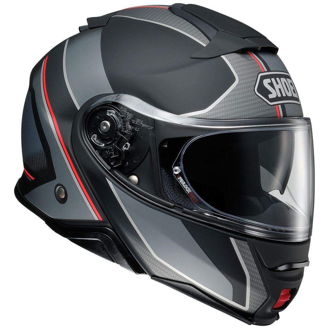 6774df9d Shoei Neotec 2 Excursion TC5 Grey Flip Up Motorcycle Helmet   eBay