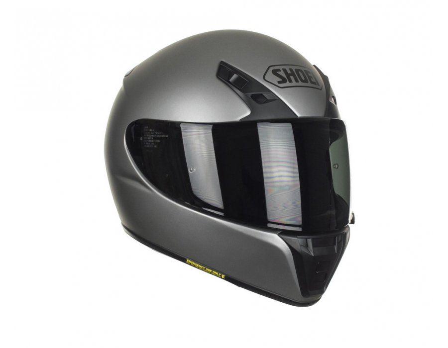 Shoei Ryd Mat Deep Gris Integral Moto Casque Ebay