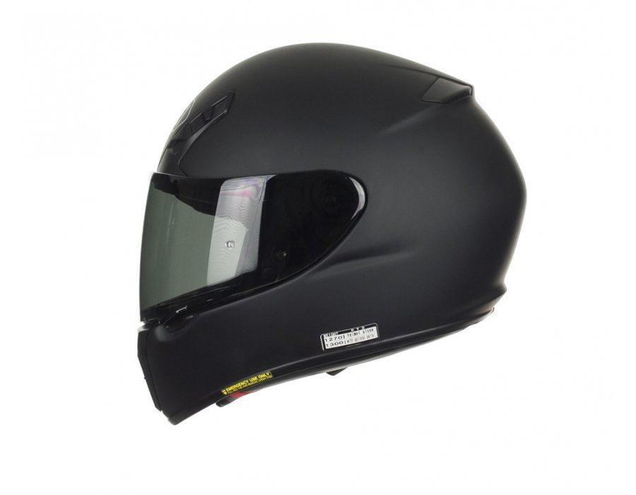 Shoei Ryd Mat Noir Integral Moto Casque Ebay