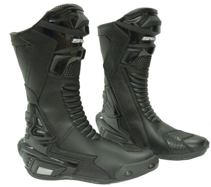 Spada-moto-X-Race-stivali-neri