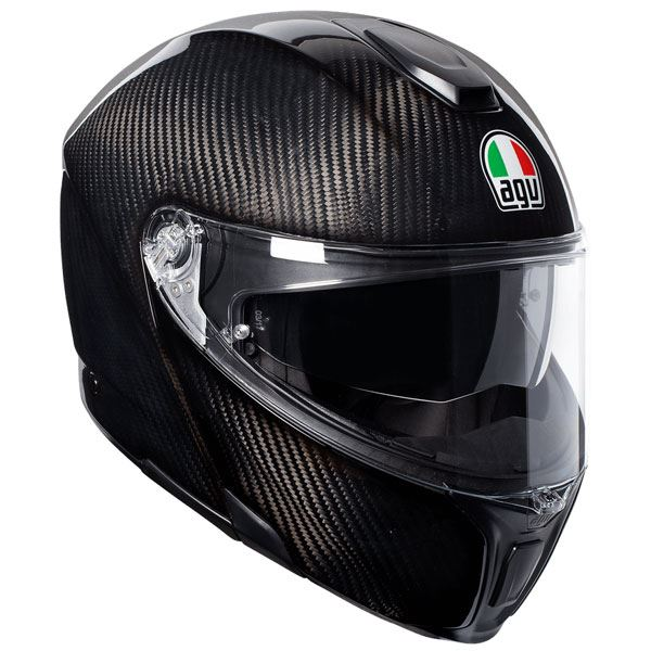AGV-Sports-Modular-Flip-Up-Gloss-Carbonio-Motociclo-Casco