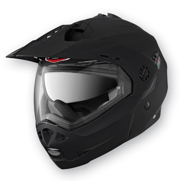 Caberg-Tourmax-Matt-Black-Motorcycle-Helmet