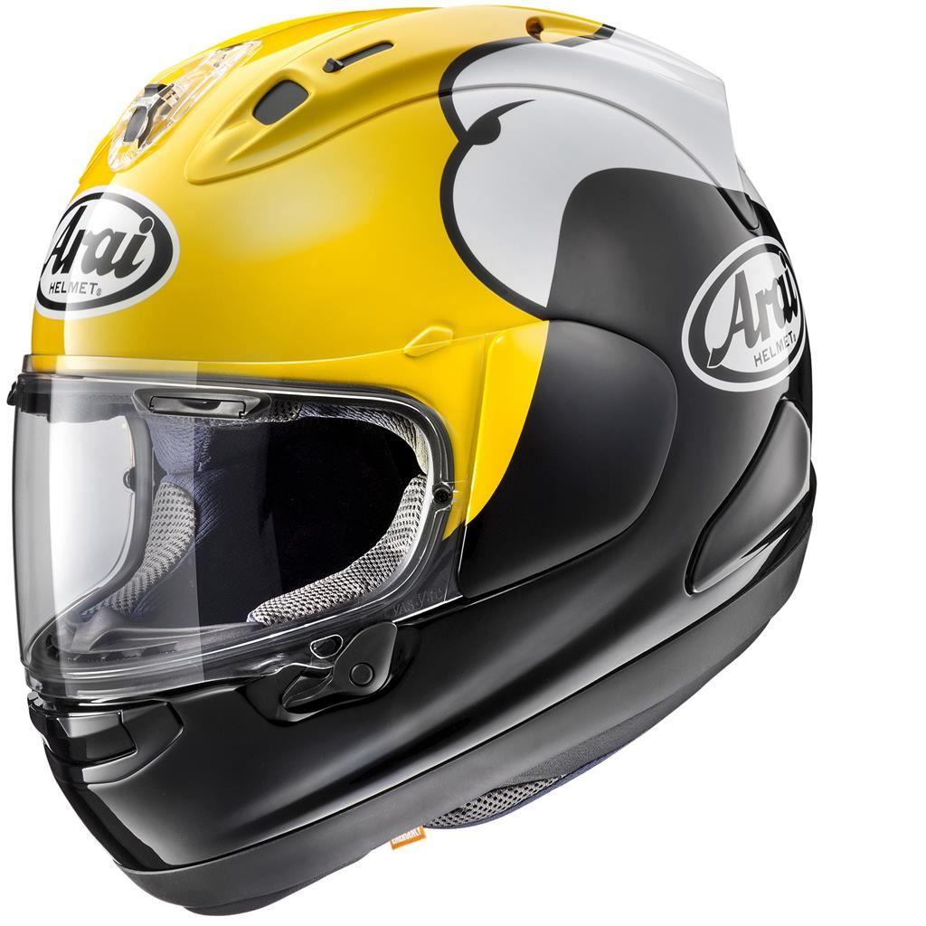 Arai-RX-7V-Kenny-Roberts-Replique-Casque-De-Moto miniature 3