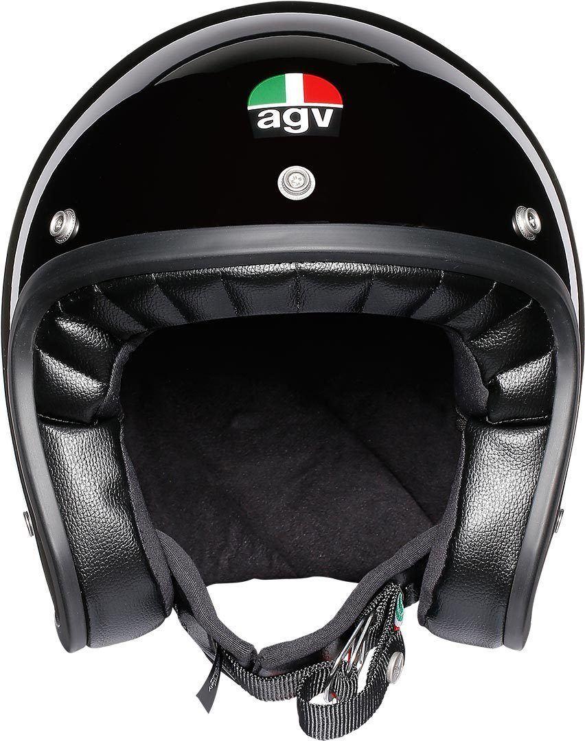 AGV-Legends-X70-Aperto-Gloss-Nero-Motociclo-Casco