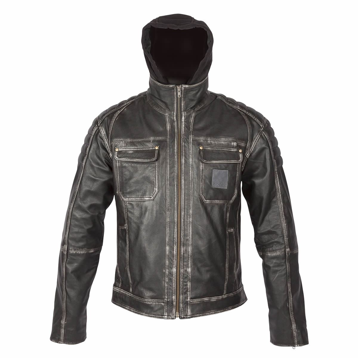 Parts & Accessories Men's Clothing Lower Price with Suzuki 4269 White Motorbike Motorcycle Cowhide Leather Jacket And Leather Gloves
