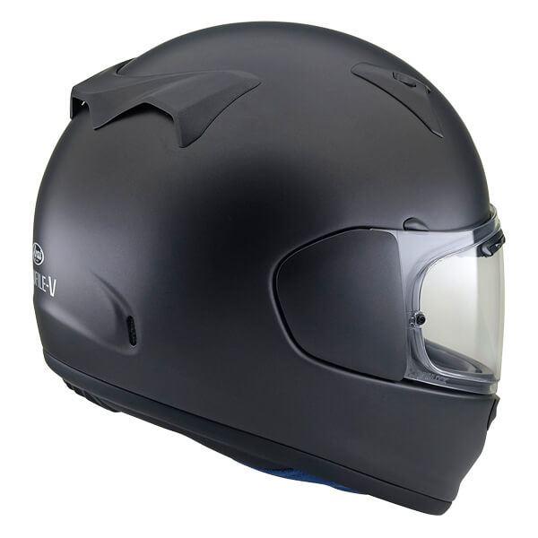 Arai-Profile-V-Solid-Matt-Black-Full-Face-Motorcycle-Helmet thumbnail 8