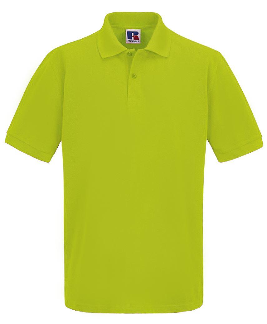 Para-hombre-Plain-Pique-Polo-Camiseta-Verano-100-Algodon-Top-de-manga-corta miniatura 3