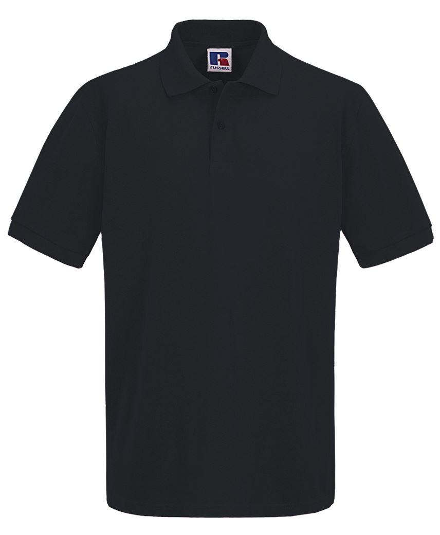 Para-hombre-Plain-Pique-Polo-Camiseta-Verano-100-Algodon-Top-de-manga-corta miniatura 5