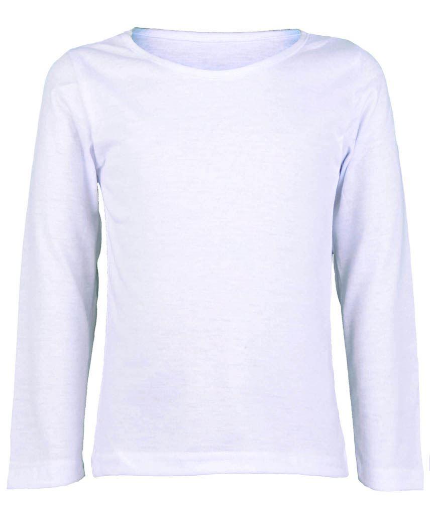 white long sleeve shirt girls
