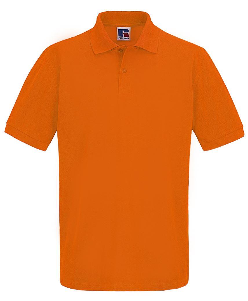 Para-hombre-Plain-Pique-Polo-Camiseta-Verano-100-Algodon-Top-de-manga-corta miniatura 10