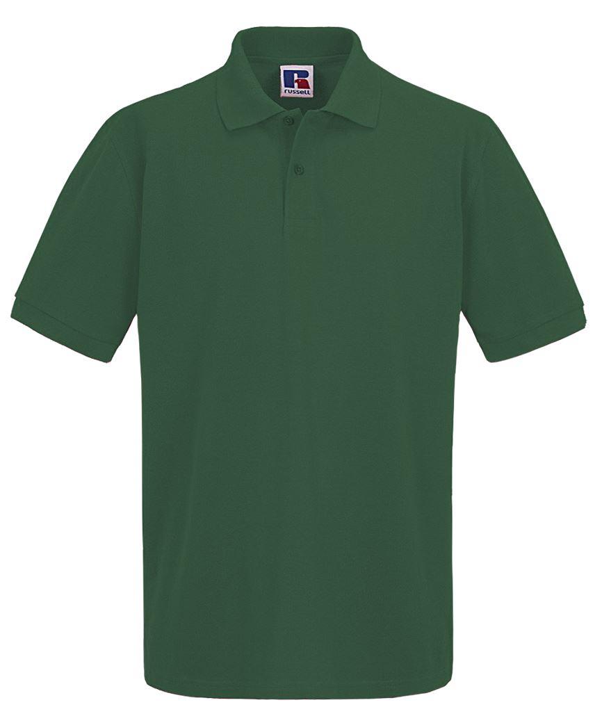 Para-hombre-Plain-Pique-Polo-Camiseta-Verano-100-Algodon-Top-de-manga-corta miniatura 8