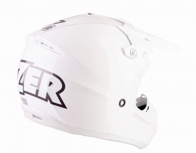 Lazer-X7-Motocross-Helmet-Solid-White-X-Line-MX-Enduro-Off-road-Quad thumbnail 7