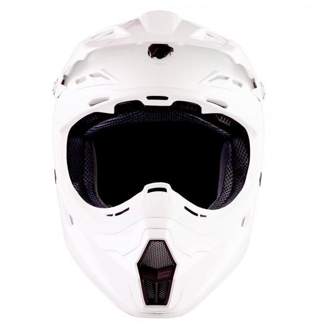 Lazer-X7-Motocross-Helmet-Solid-White-X-Line-MX-Enduro-Off-road-Quad thumbnail 4