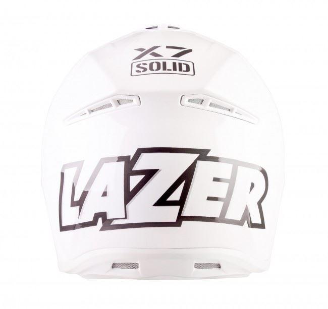 Lazer-X7-Motocross-Helmet-Solid-White-X-Line-MX-Enduro-Off-road-Quad thumbnail 6