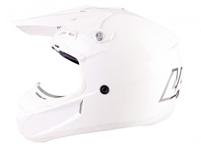 Lazer-X7-Motocross-Helmet-Solid-White-X-Line-MX-Enduro-Off-road-Quad thumbnail 3