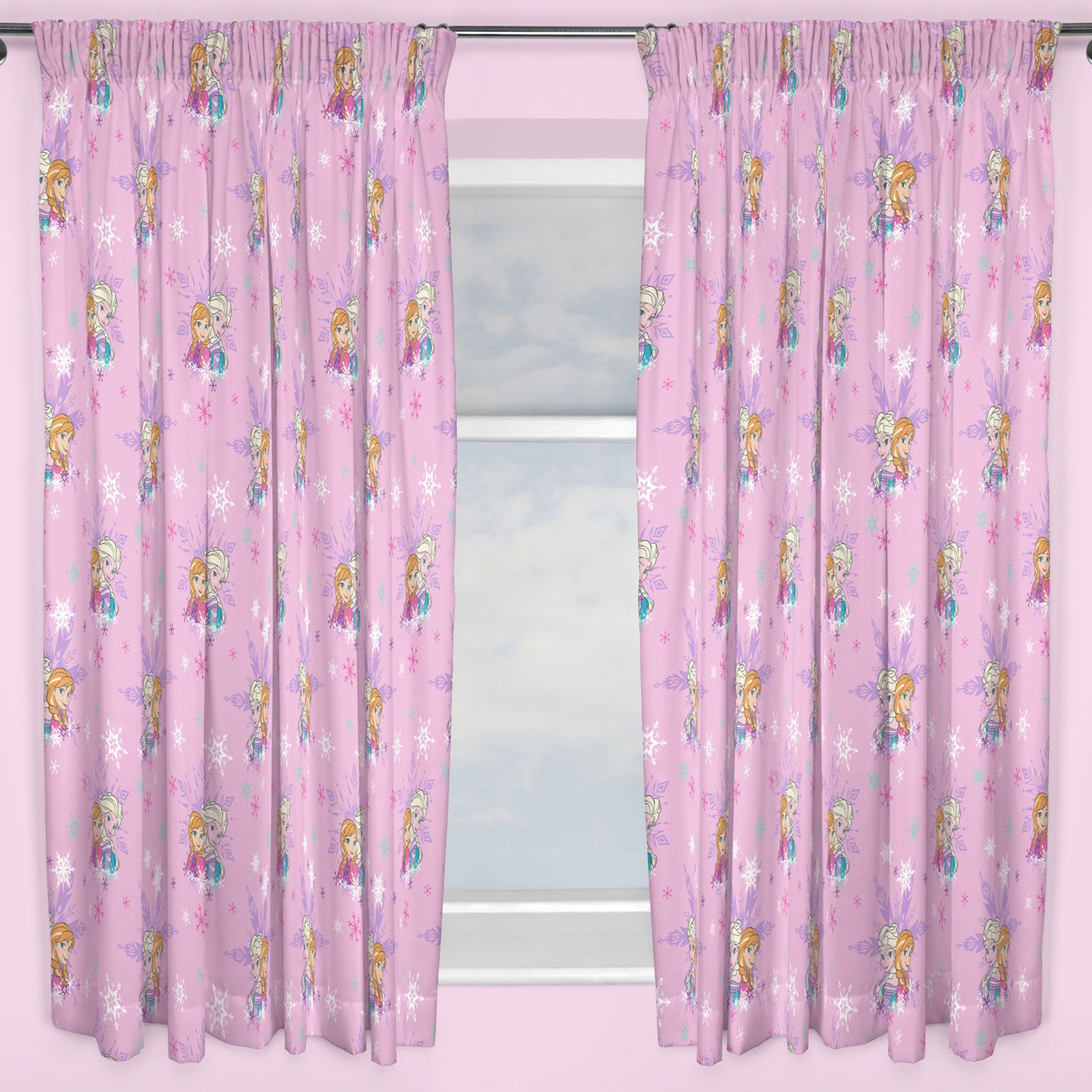 KIDS DISNEY AND CHARACTER CURTAINS 54 72 INCH