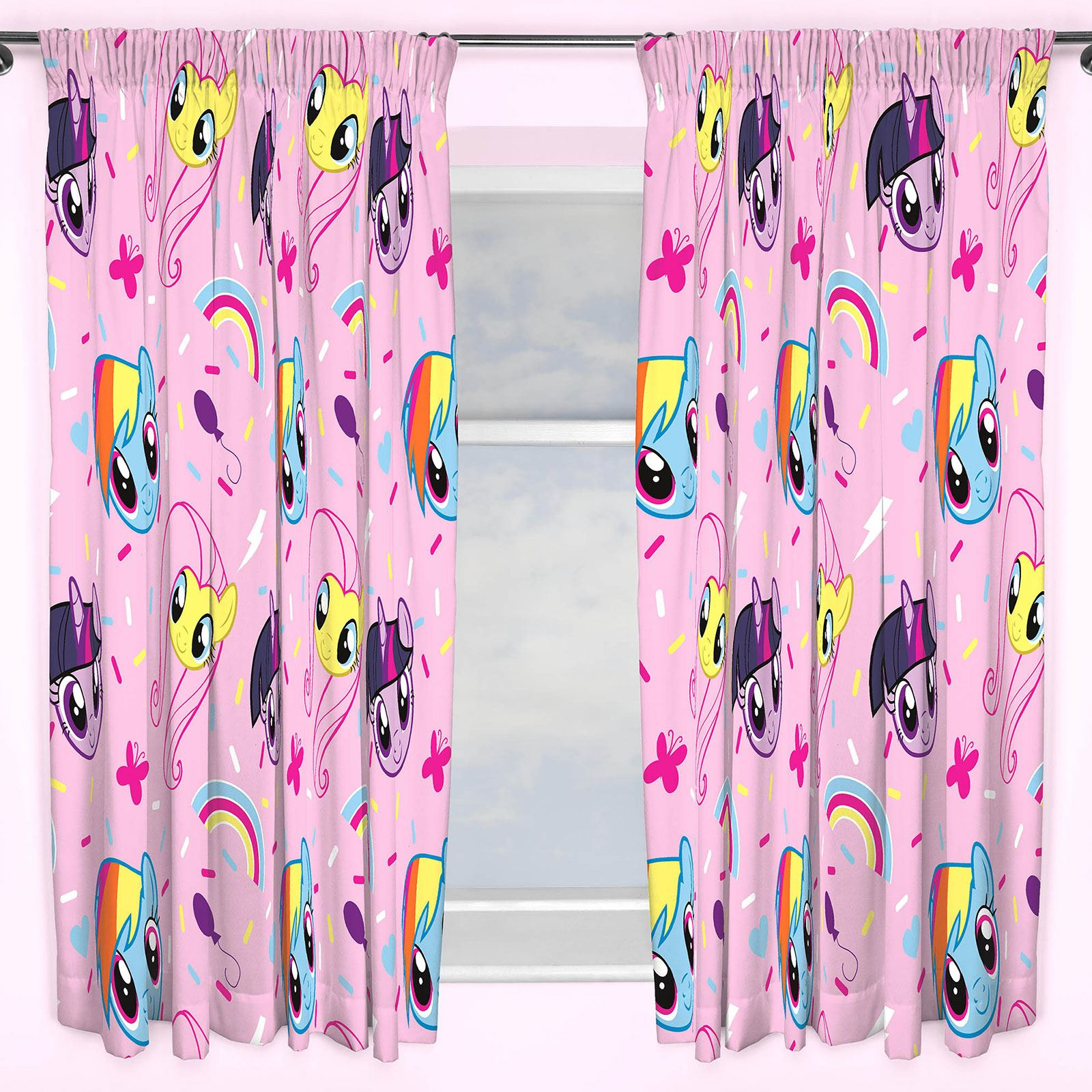 drop kids character boys inch itm curtains curtain girls disney childrens and