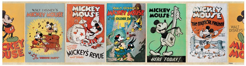 Disney Mickey Amp Minnie Mouse Wallpapers And Borders Kids