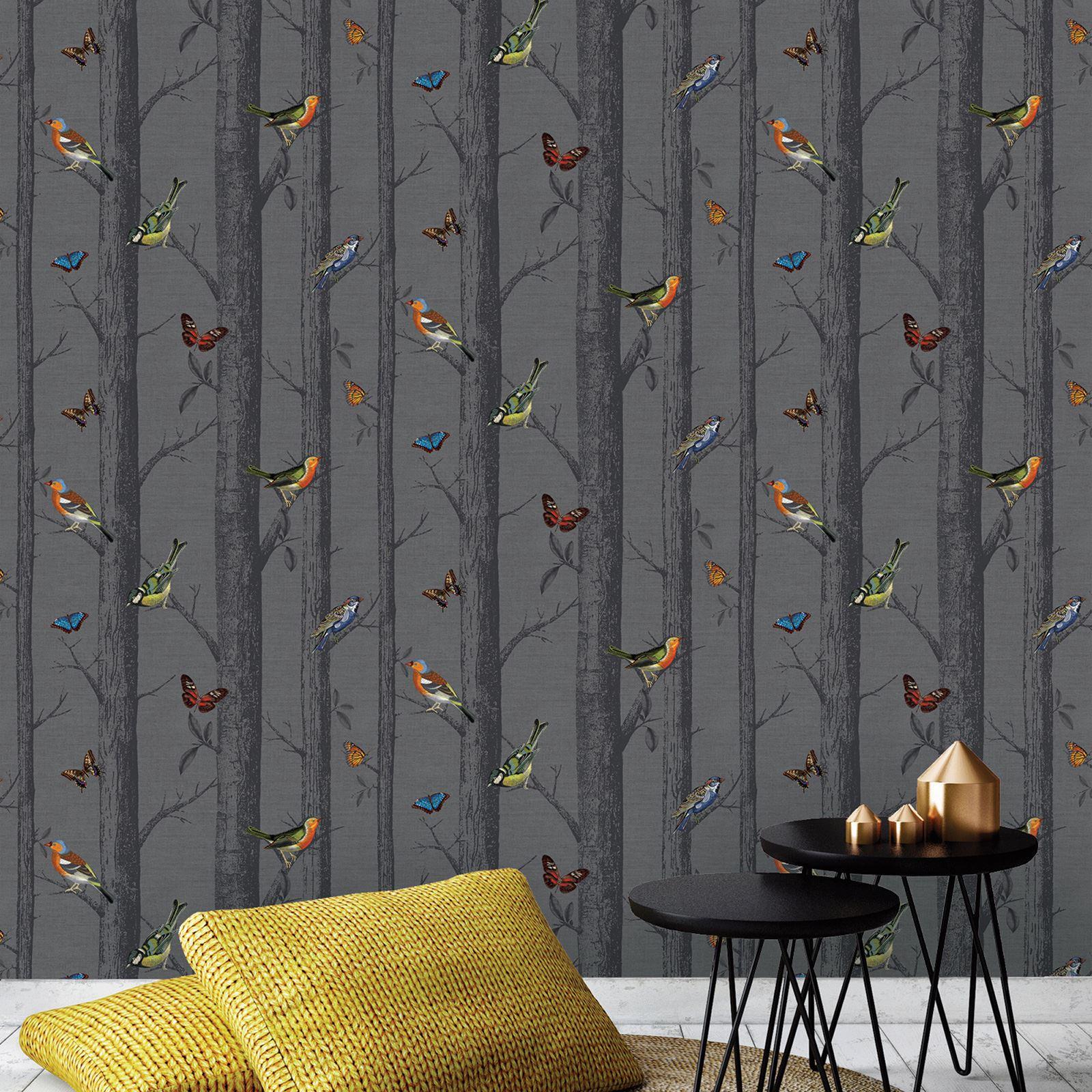 wundersch n v gel themen tapete in verschiedenen designs. Black Bedroom Furniture Sets. Home Design Ideas