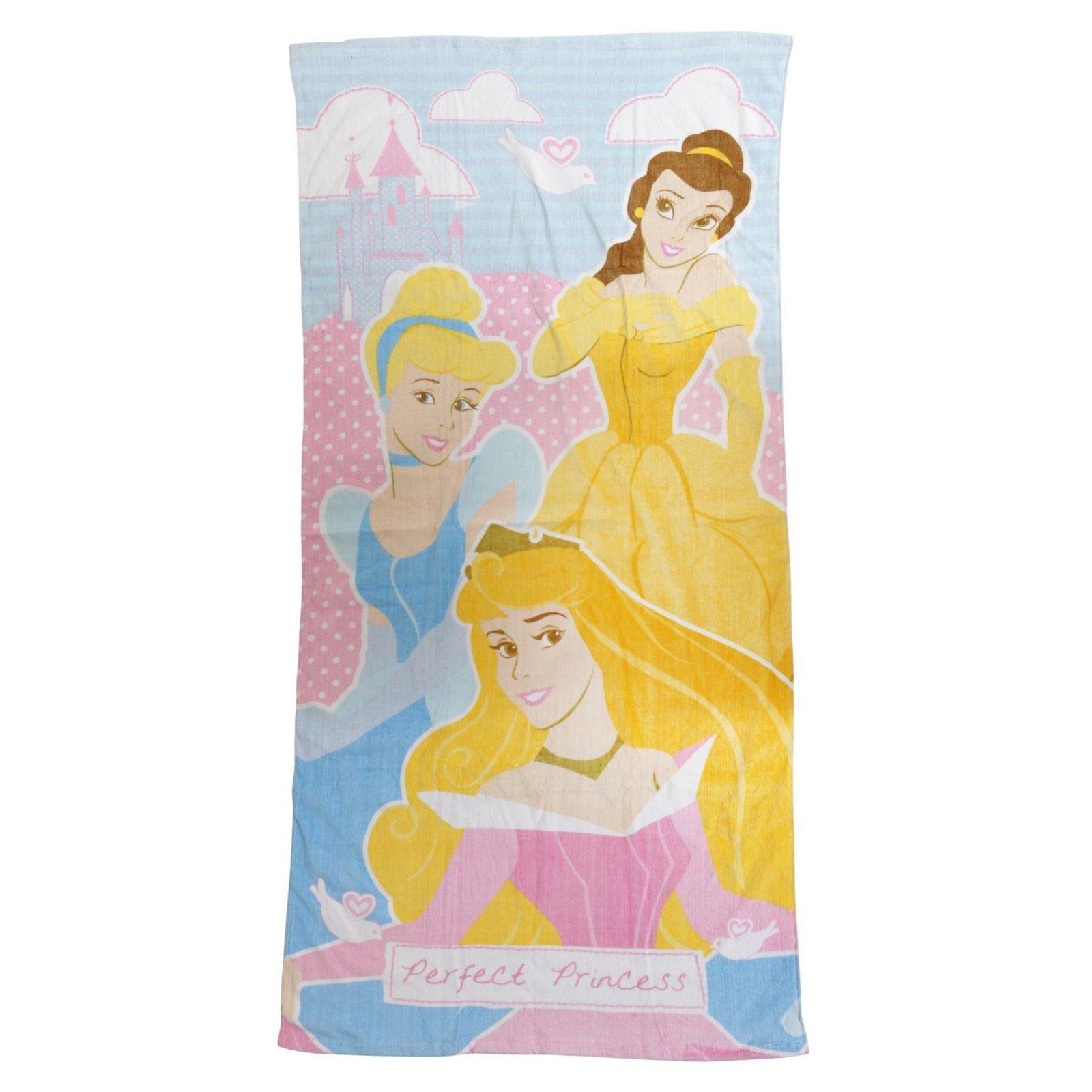 KIDS TOWELS BOYS GIRLS - DISNEY PRINCESS PONY BATMAN PAW PATROL ...