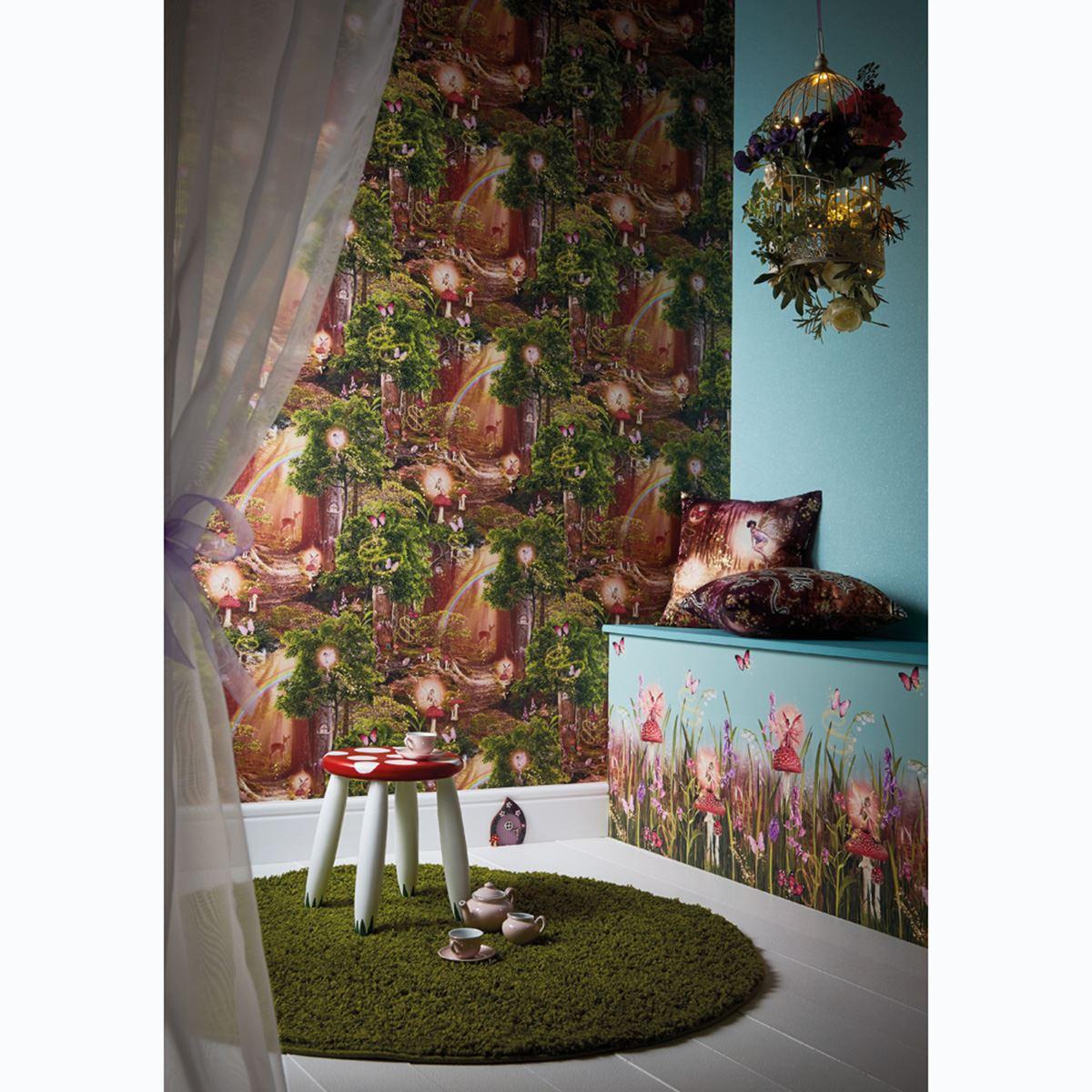 Magical Fairy Garden Designs: MAGIC FAIRY GARDEN WALLPAPER