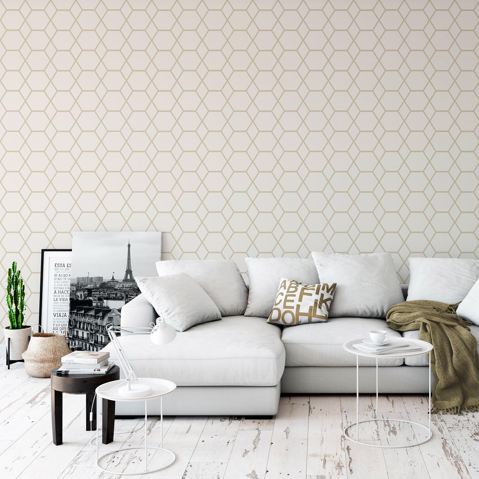 Papier Peint Chambre Moderne détails sur géométrique papier peint chambre decor moderne différents  modèles et couleurs- afficher le titre d'origine