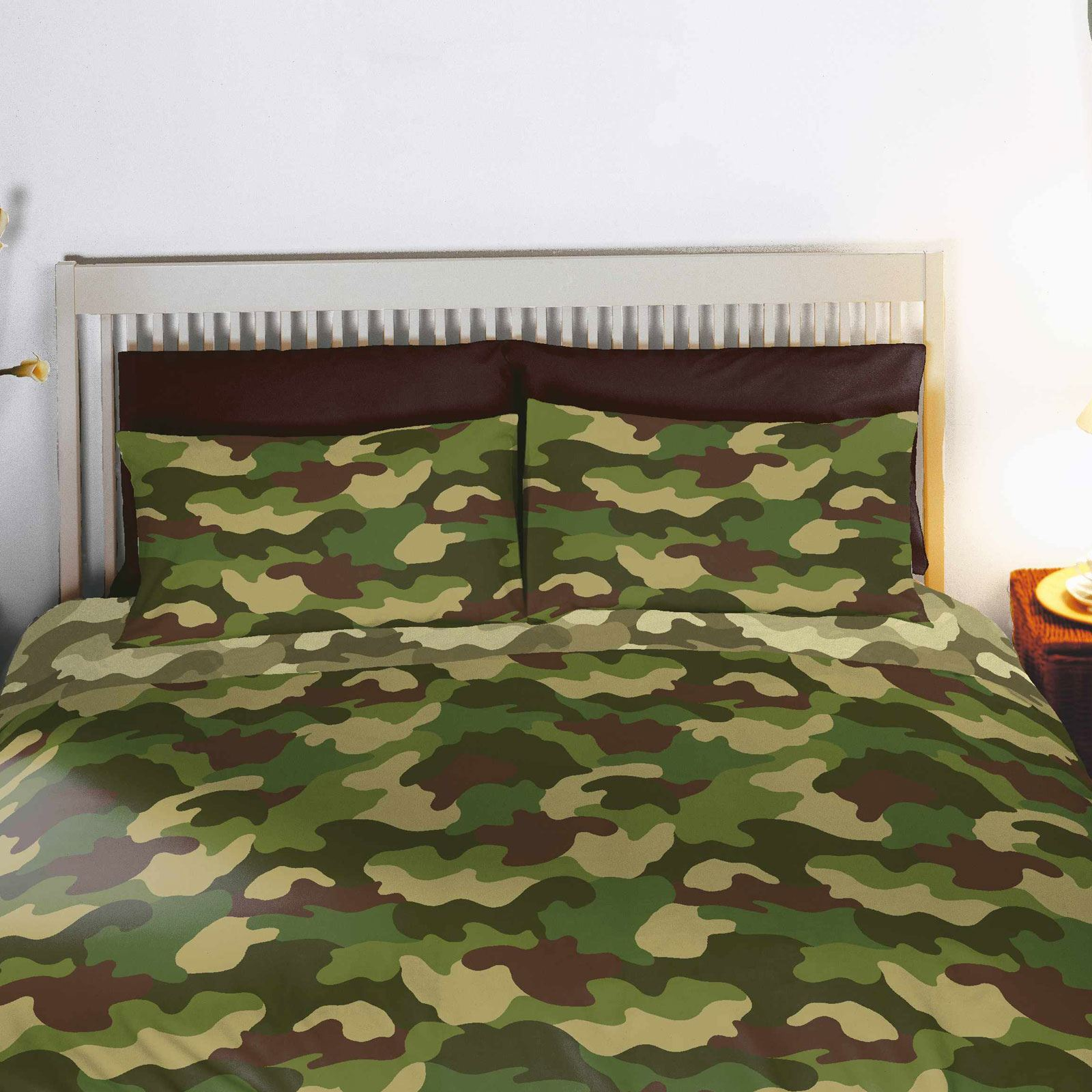 Army Camouflage Single Amp Double Duvets Amp Curtains In Two