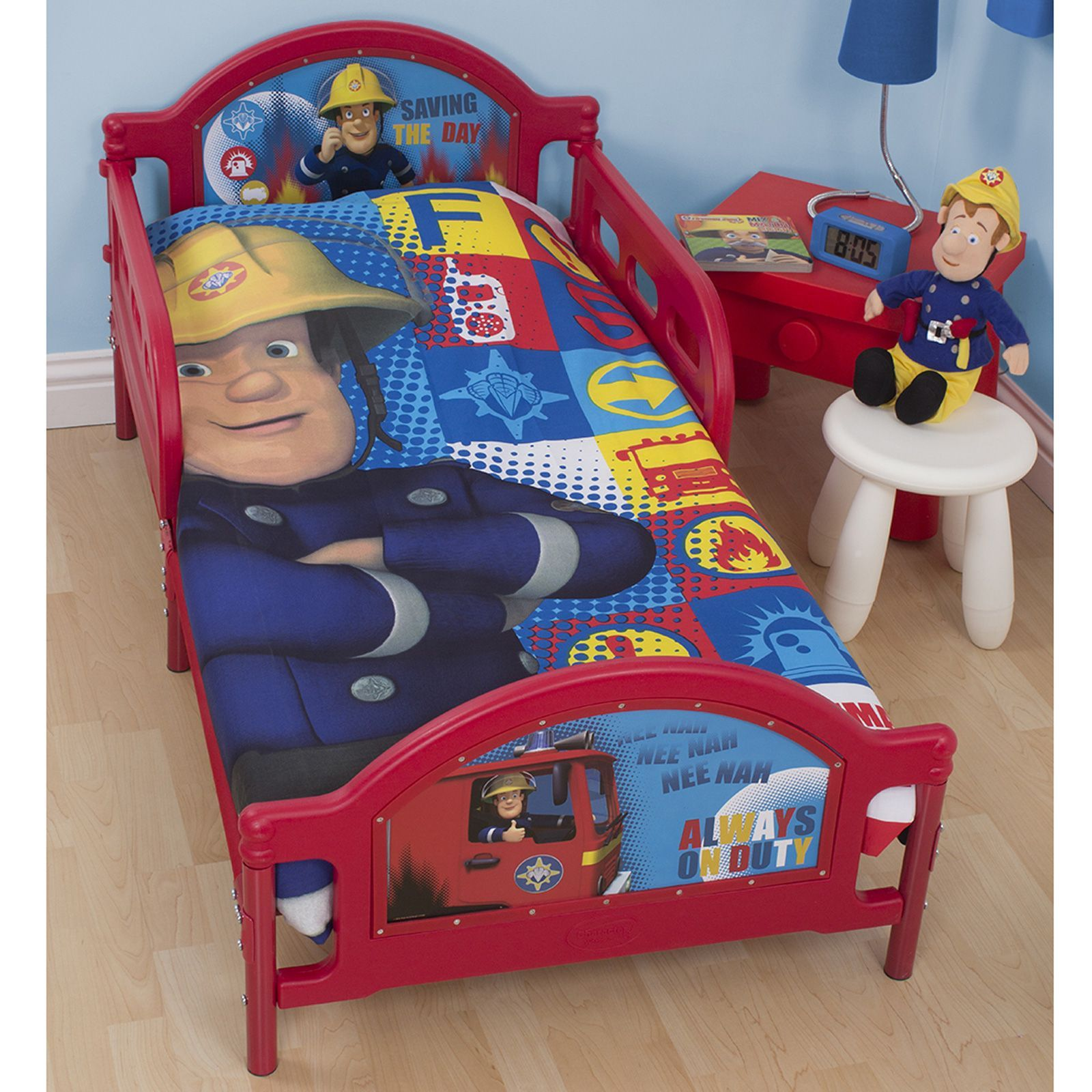 Fireman Sam Bedding Single Double Junior Duvet Cover Sets Fitted Sheet Ebay