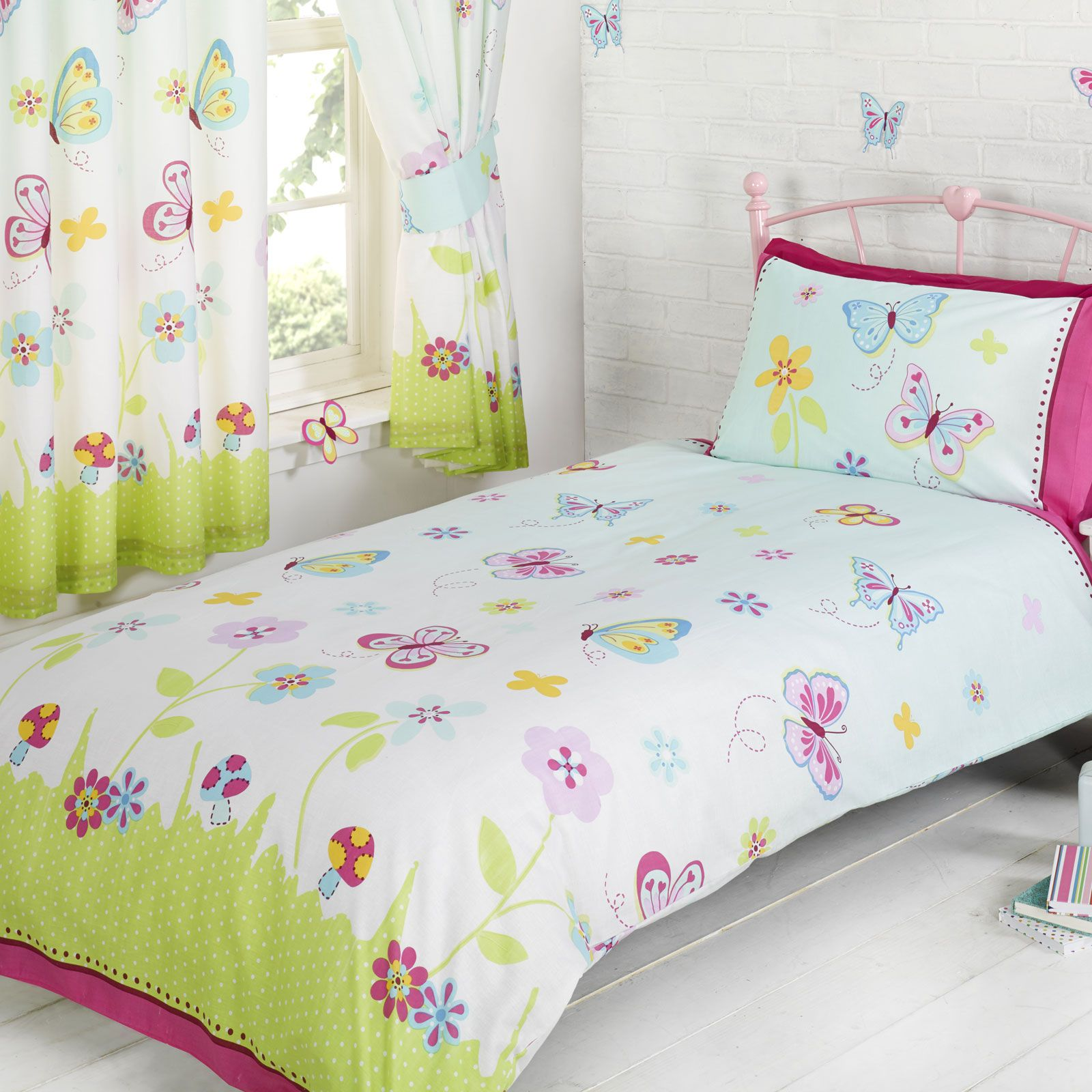 Butterfly Garden Bedroom Single Amp Double Duvets Cover