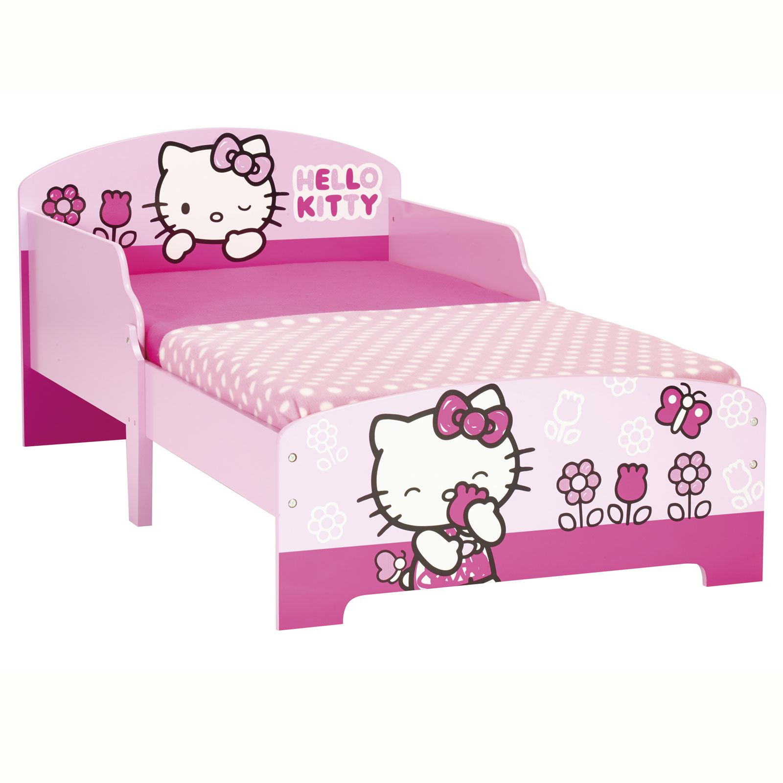 KIDS TODDLER JUNIOR CHARACTER BEDS MATTRESS OPTION AVAILABLE