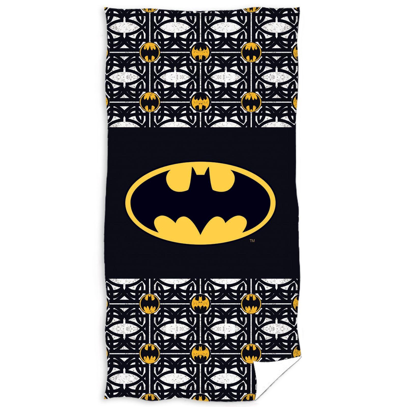 BATMAN-Y-SUPERMAN-Algodon-Playa-toallas-y-ponchos-infantil-NUEVO