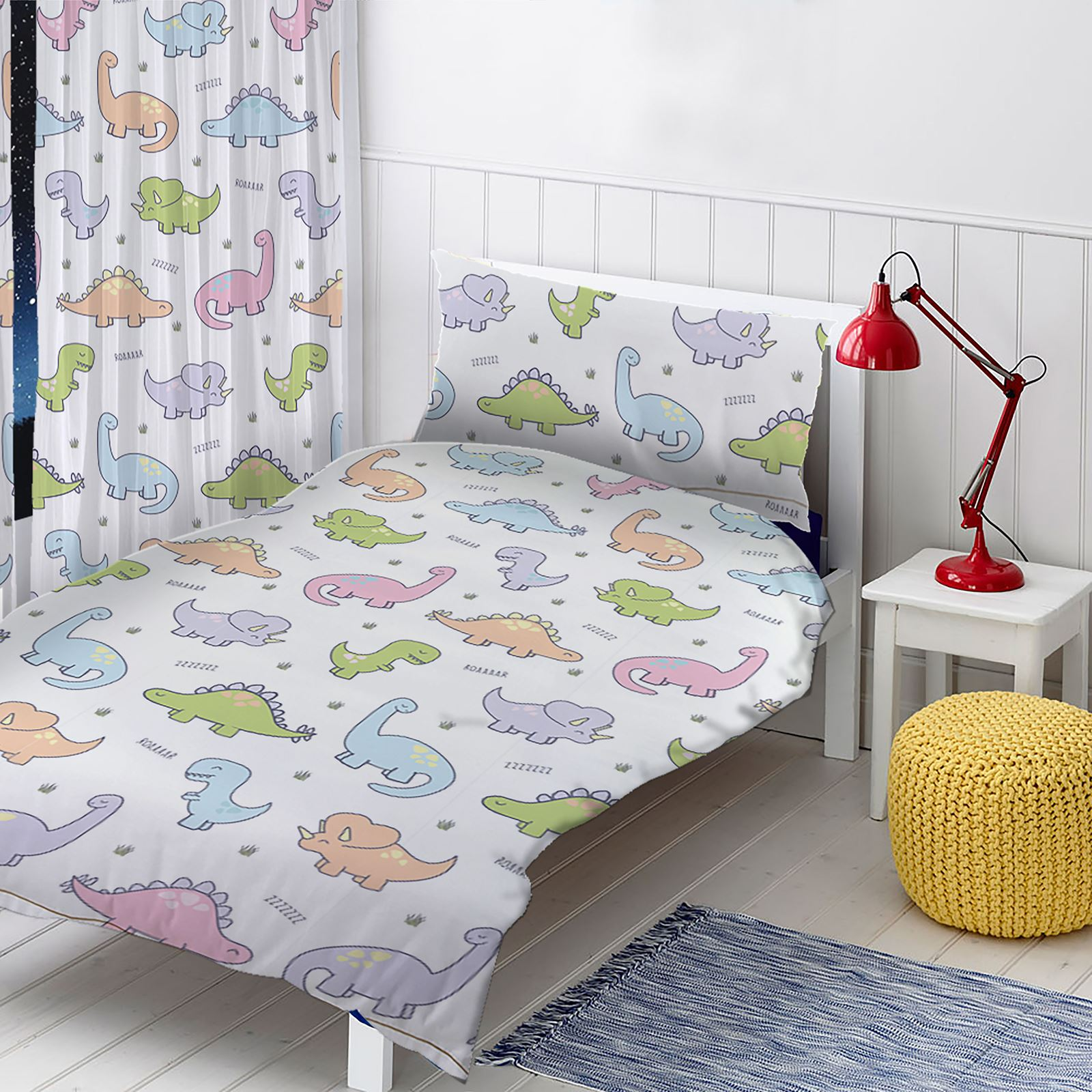 housse de couette junior ensembles b b literie dinosaures no l cars animaux ebay. Black Bedroom Furniture Sets. Home Design Ideas