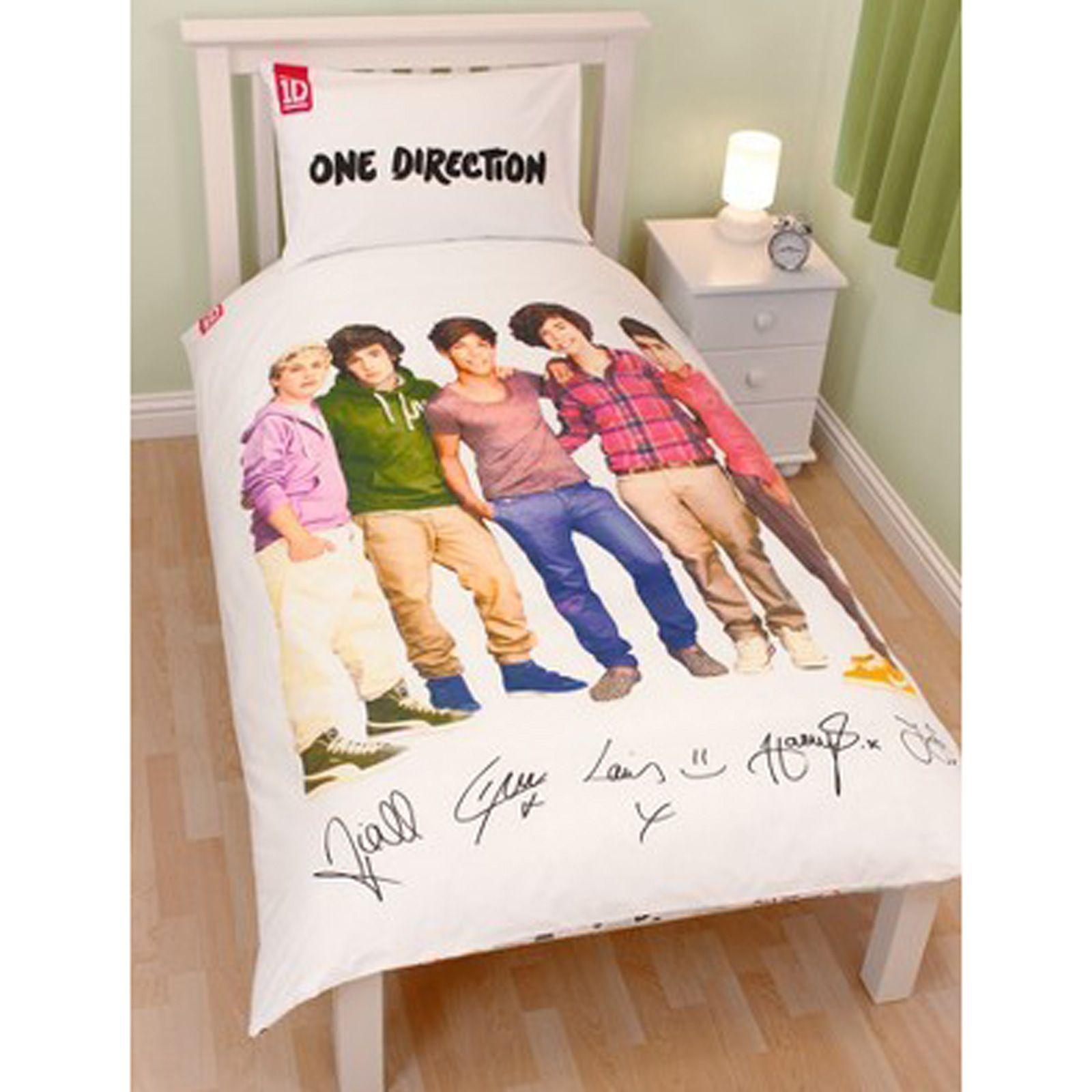 Copripiumino Singolo One Direction.Dettagli Su One Direction Copripiumino Set Singolo Doppia Taglie Merce Ufficiale 1d Mostra Il Titolo Originale