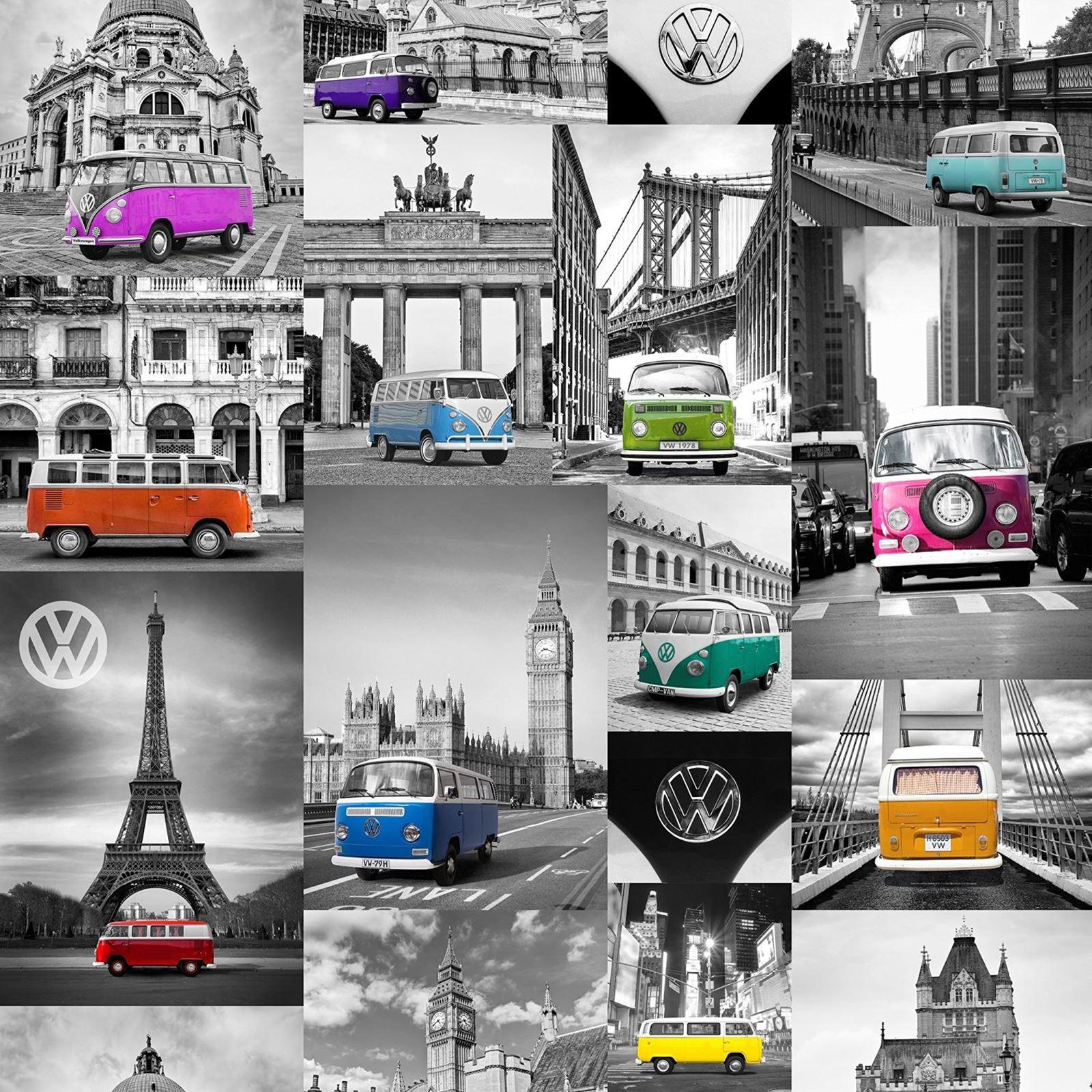 Volkswagen Wallpaper Campervan Scooters City Campers