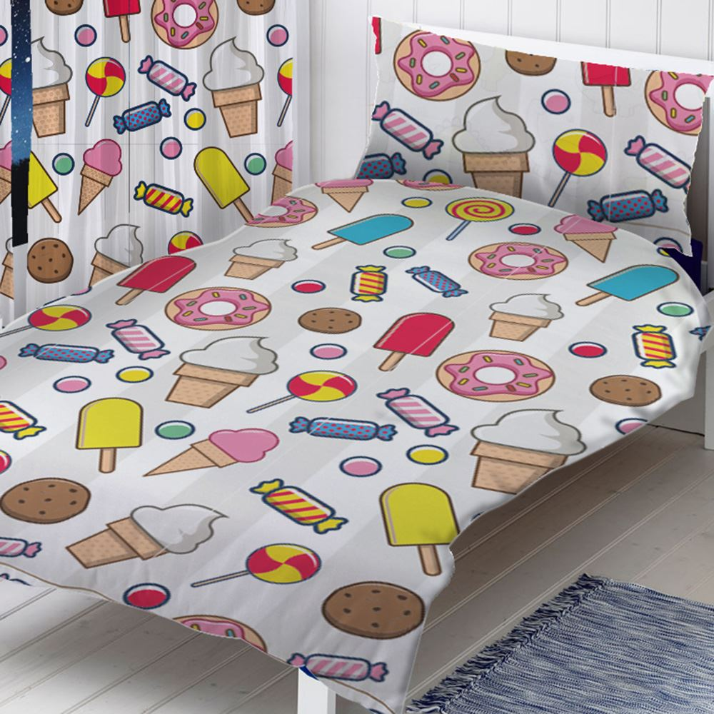 GIRLS-SINGLE-DUVET-COVER-SETS-UNICORNS-BUTTERFLIES-PRINCESS-OWLS-amp-MORE