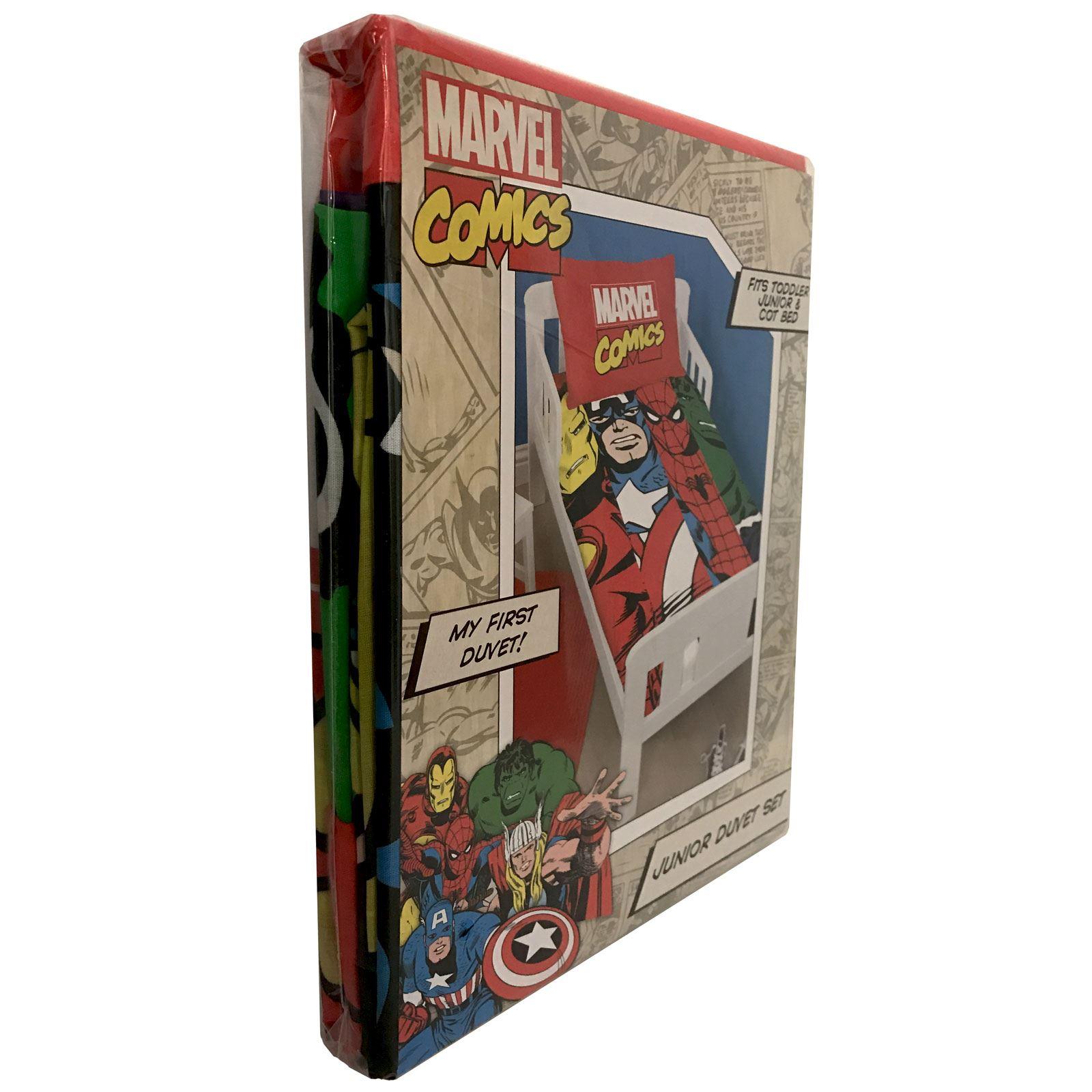 Official avengers marvel comics bedding bedroom for Avengers wall mural amazon