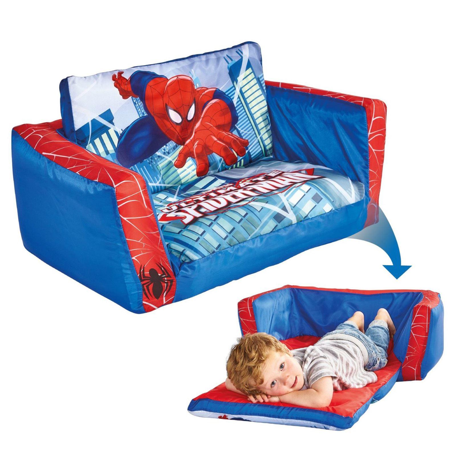 spiderman sofa chair