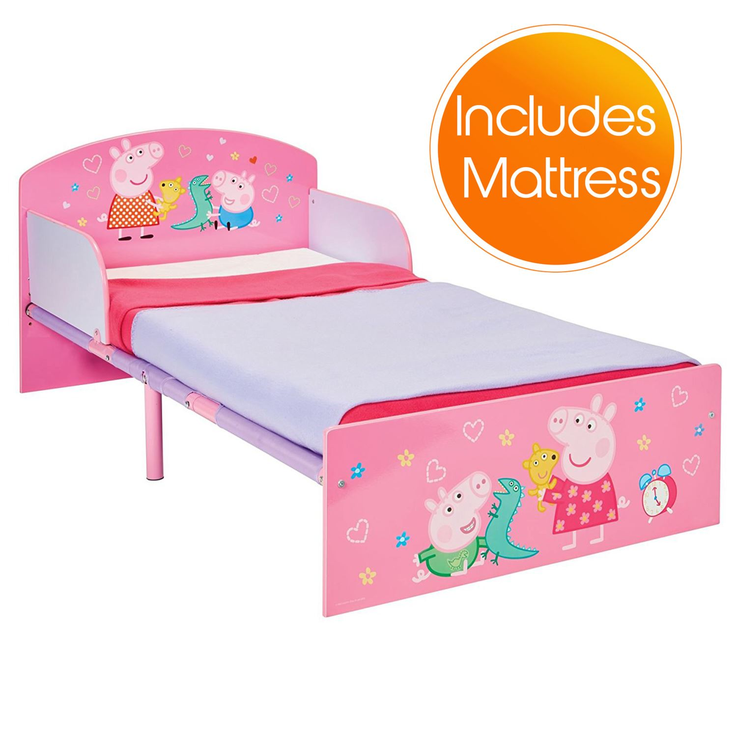 Peppa Pig Toddler Bed Amp Mattress Options Girls Bedroom