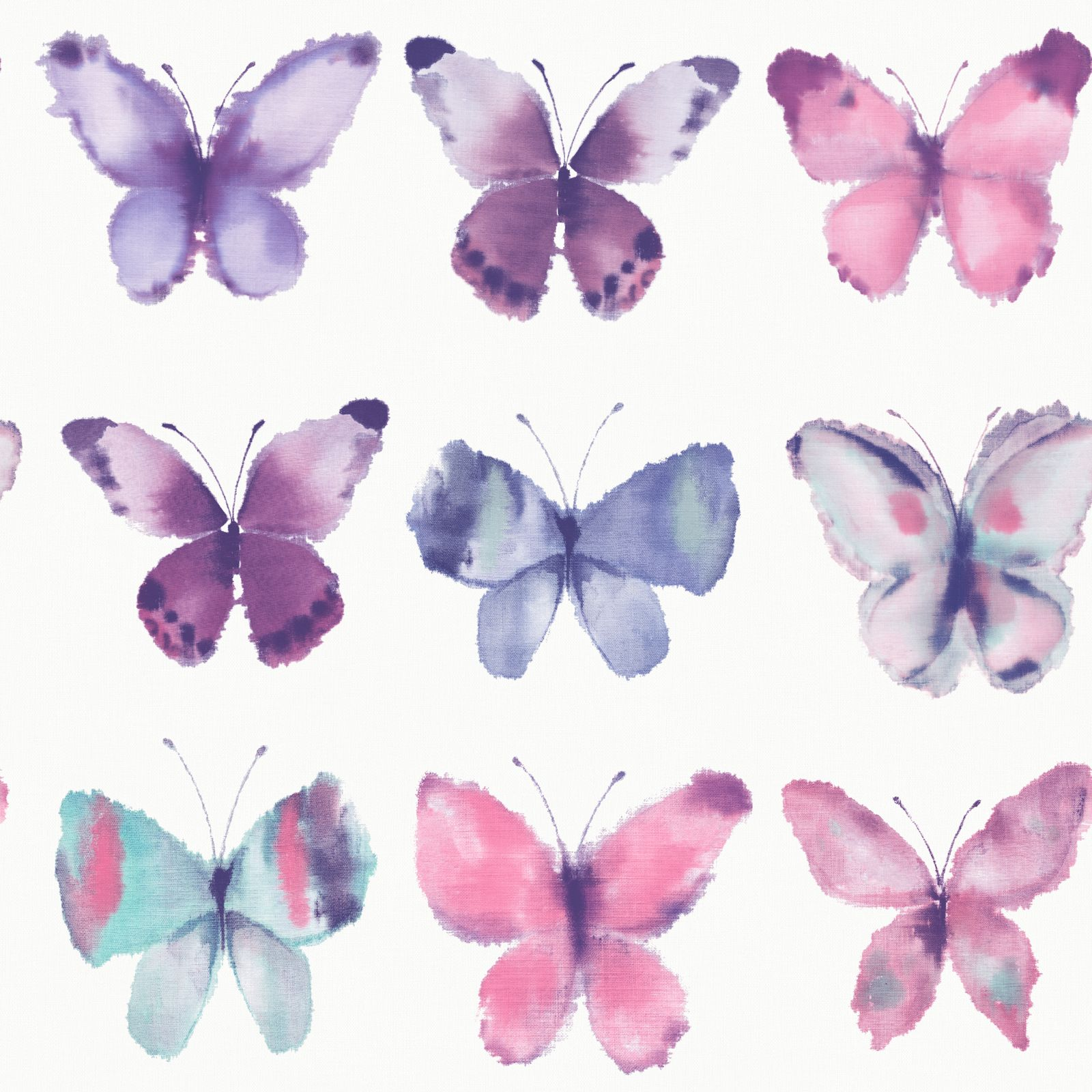 Pink And Purple Wallpaper For A Bedroom Girls Bedroom Butterfly Wallpaper In Pink White Teal More New