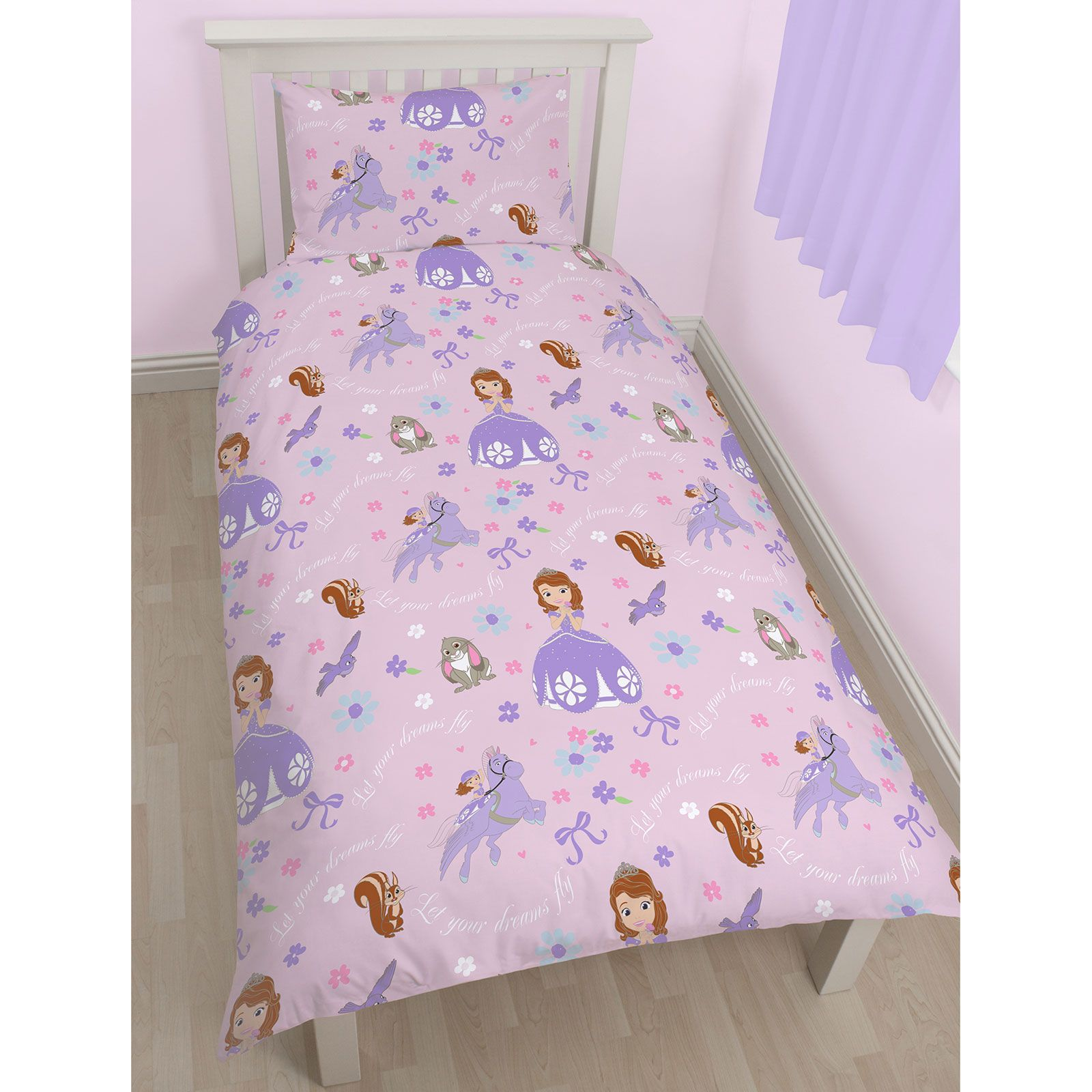 Disney sofia the first bedding single double junior - Sofia the first bedroom ...